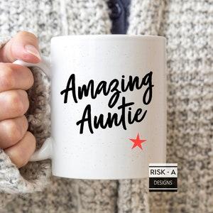Funny women aunt gift Nacho average Auntie Tote bag