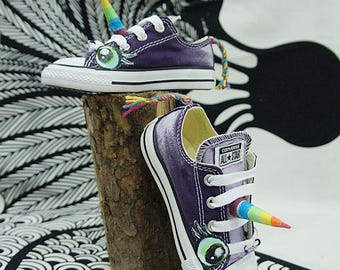 Custom Unicorn Converse Sneakers