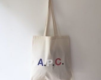 5aed04a336 APC Canvas Tote Bag Multicolour