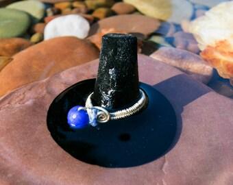 Jade and Blue Aventurine Ring