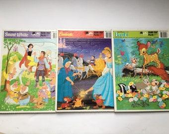 Disney Frame Tray puzzle lot