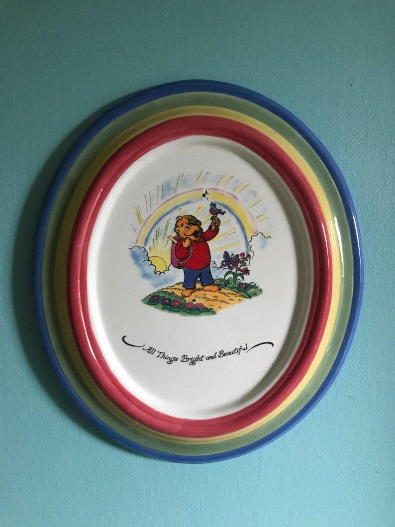 Ceramic Berenstain bears decor