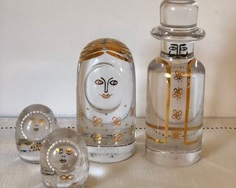 G\u00f6ran and Ann W\u00e4rff for Kosta Boda Familily series glass figurines