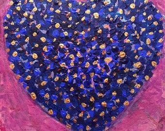 Heart art * Original Artwork * Painting
