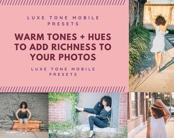 Luxe Tones Lightroom Mobile Presets