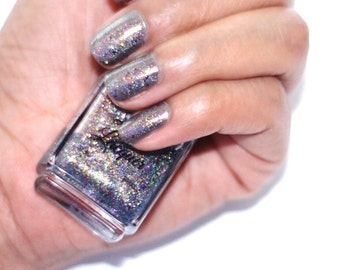 Constellation Holographic Illusion Nail Topper