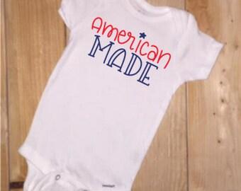 American Made Onesie