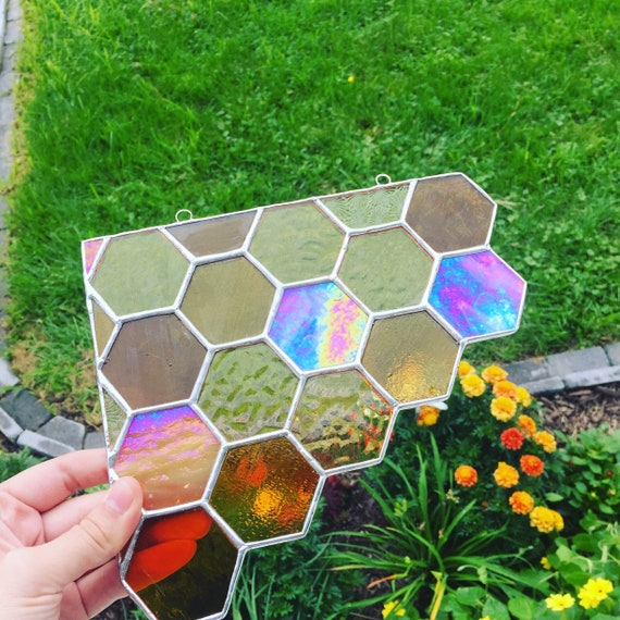 Variety Stained Glass Pack for Stained Glass Window or Mosaic 14 pieces