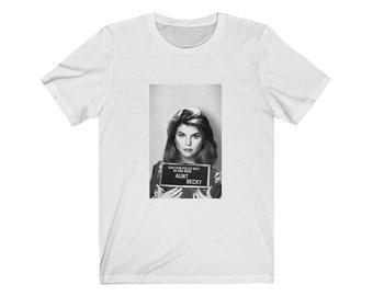 01a5d8fa7 Free Aunt Becky - Full House mug shot t-shirt