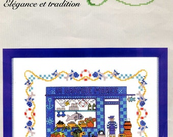 cross stitch Kit counted elegance and tradition: the high tide