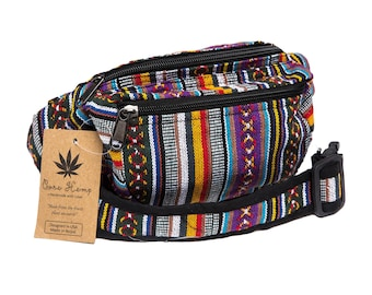 Core Hemp Fanny Pack Money Belt Waist Pack