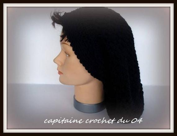 Traînassent le chapeau bonnet au crochet bonnet en   Etsy 4a838ead950