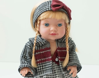 """Elegant winter """"Baby"""" Doll clothes"""