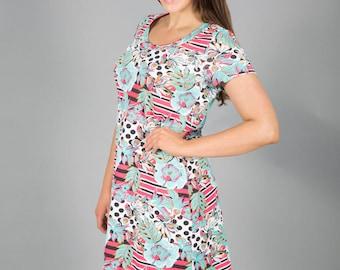 Black Plum Desigual Print dress