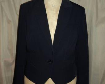 Short Blazer button size 38 Navy Blue (used)