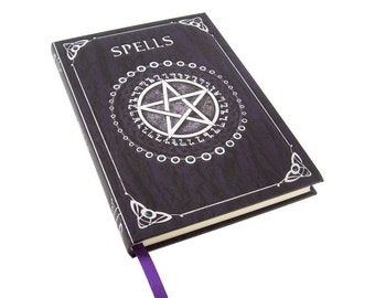 Spell Book Purple ( Drawing and sketching book)