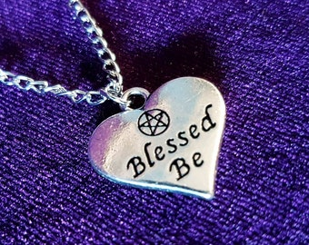 Blessed Be Pendant