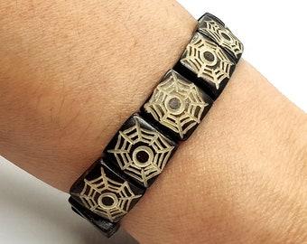Yak Bone Spider Bracelet