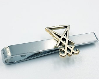 Sigil of Lucifer Hair Tie Clip
