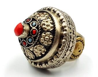 Vintage Large Kuchi Ring