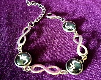 Sopor Aeternus Infinity Bracelet -  Jusa Sigil Sopor Aeternus Gothic Tradgoth jewellery