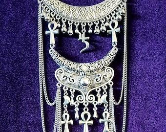 Egyptian Immortality Ankh Neckpiece (2styles) - Ankh Gothic Goth Set Egypt Tradgoth Vampire Strigoi