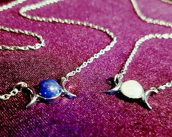 Mini Hecate Gemstone Necklaces (5 styles)