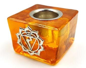 Solar Plexus Chakra Manipura Candle Holder