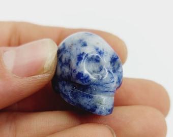 Small Sodalite Crystal Skull