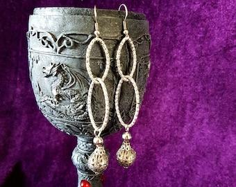 Infinity Sphere Earrings