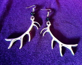 Antlers Earrings.