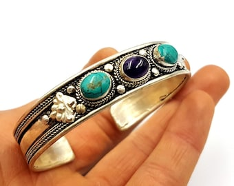 Amethyst Turquoise Bracelet