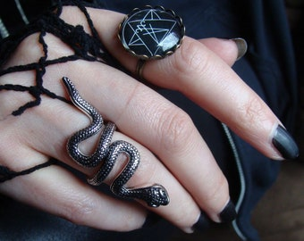 Serpent Snake Ring