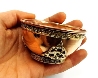 Triquetra Offering Bowl (Copper)