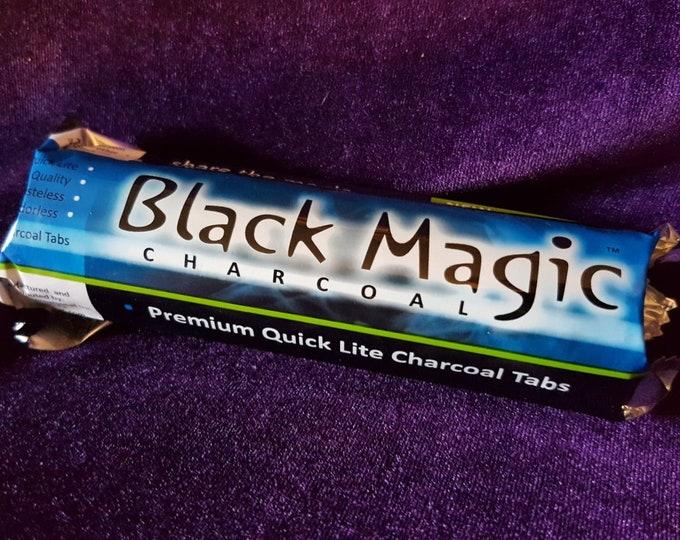 10 Ritual Charcoal tabs for Incense   Hookah Shisha Coal - Occult Black Magic Incense burner burning coal
