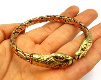 Serpent Bracelet (Copper)