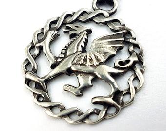 Celtic Gryphon Pendant (Eiré)