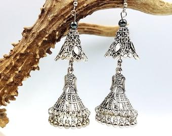Boho Hoopskirt Earrings