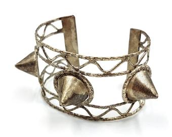 Vintage Triple Spike Bracelet