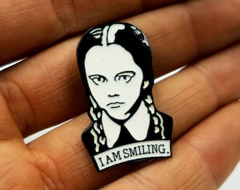 Wednesday Addams Pin