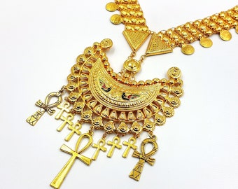 Victorian Egyptomania Necklace