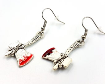 Bloody Axe Earrings