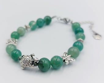 Good Fortune Bracelet with Green Aventurine