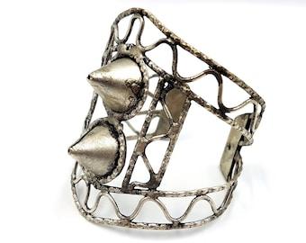 Vintage Spike Grid Bracelet