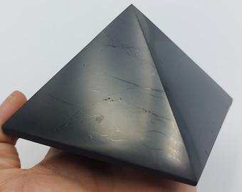 Big Shungite Pyramid (10cm / 12cm)