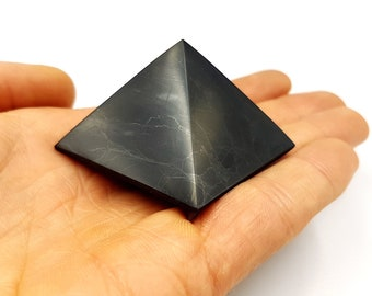 Black Tourmaline Pyramid (2 Sizes)