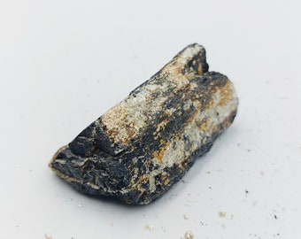 Raw Black Tourmaline with Pyrite Crystals