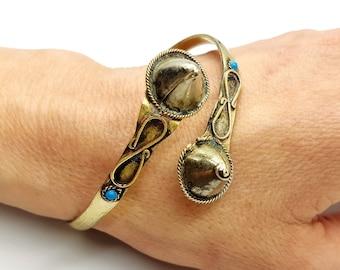 Vintage Infinity Bracelet (Kuchi Style)