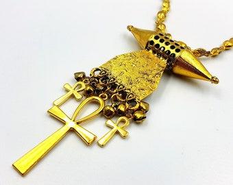Goddess Hatmehyt Necklace