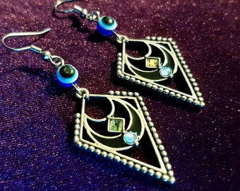 Nazar Evil Eye Earrings